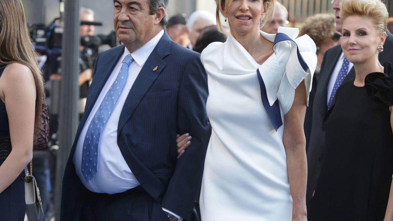 Francisco Álvarez Cascos y María Porto. (Gtres)