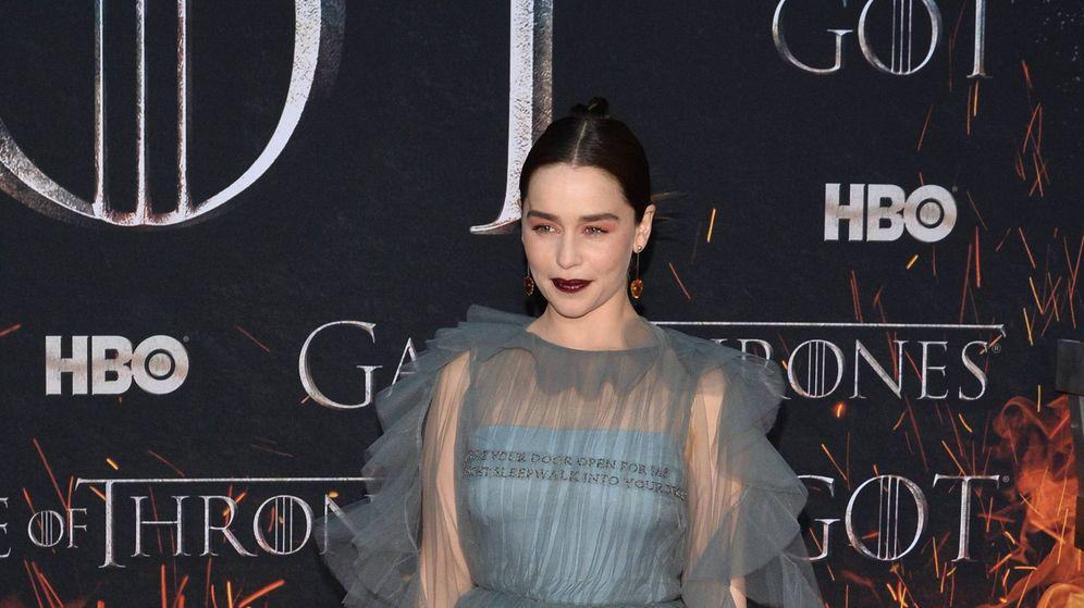 Foto: Emilia Clarke en la alfombra roja del estreno. (Cordon Press)