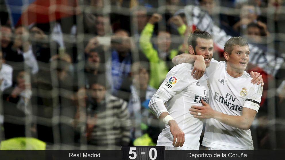 Bale recibe con honores a Zidane y convierte su debut en una gran fiesta