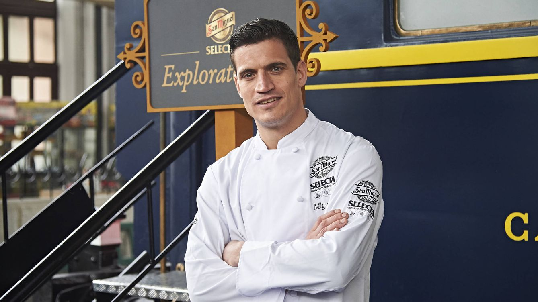 Miguel Cobo, de 'Top Chef' a presentar en Telemadrid 'My restaurant rocks'