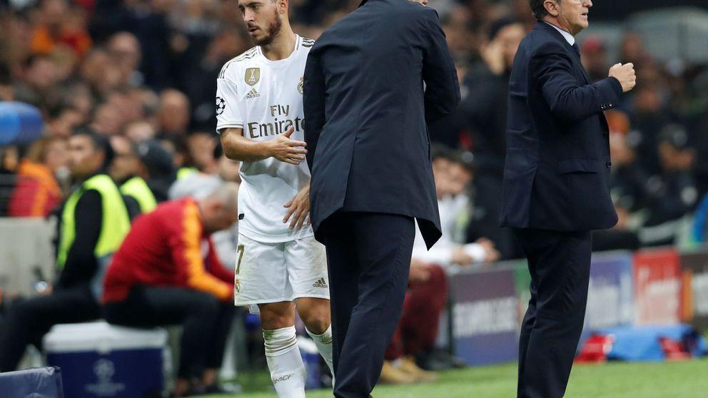 La asfixia de Eden Hazard en el Real Madrid y la soga de Zidane