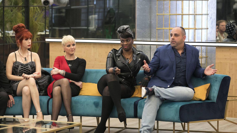 Yurena, María Jesús, Carolina y Julio, en la gala 3 de 'GH Dúo'. (Mediaset)