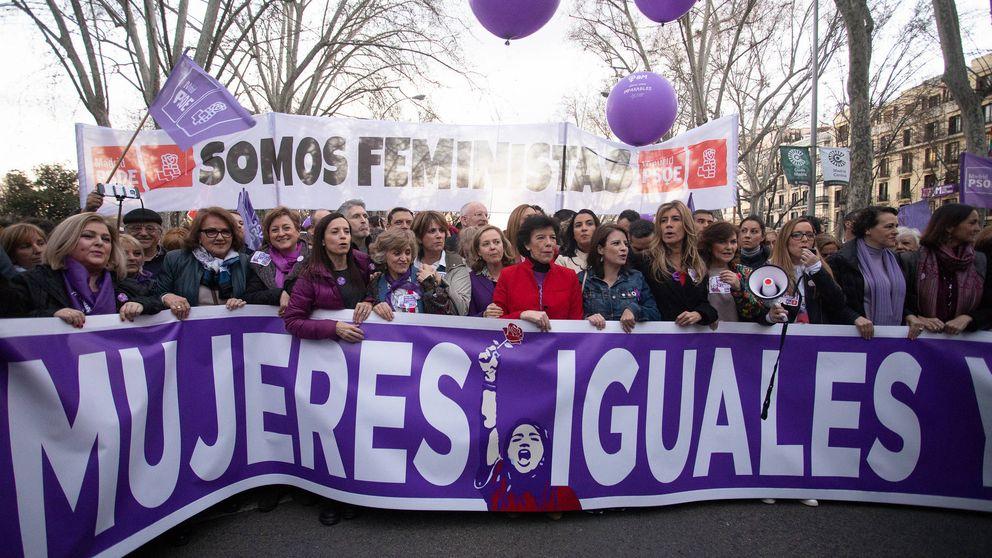 La lucha por el voto feminista que causó el choque entre PSOE y UP con el 'solo sí es sí'