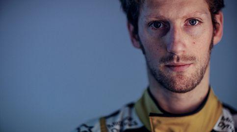 Romain Grosjean: familia numerosa, un libro de cocina y superhéroe casero