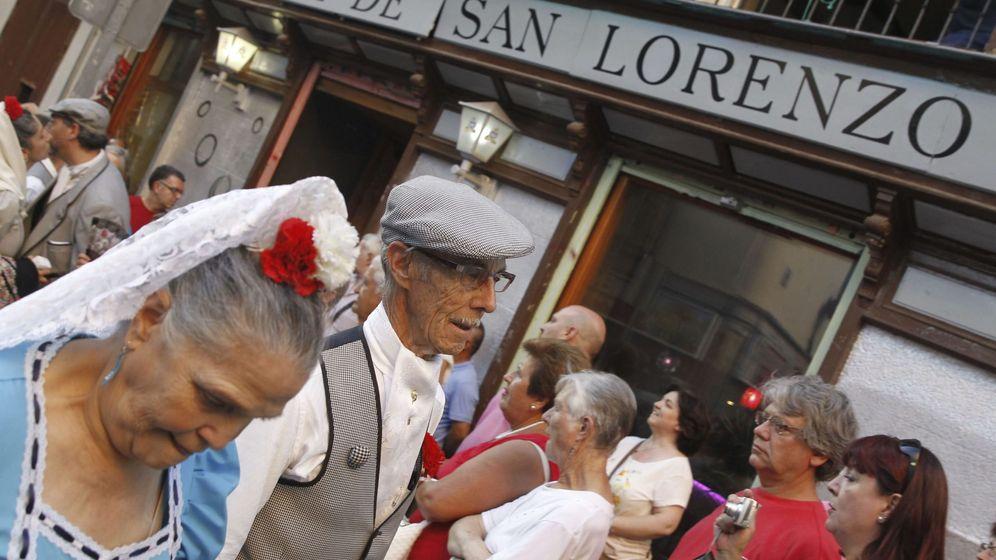 Foto: Fiestas de San Cayetano, San Lorenzo y La Paloma, en Madrid (EFE)