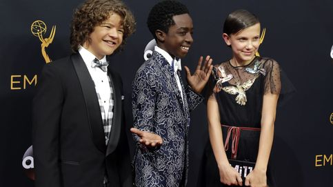 Los chicos de 'Stranger Things' bailan sobre el escenario de los Emmy