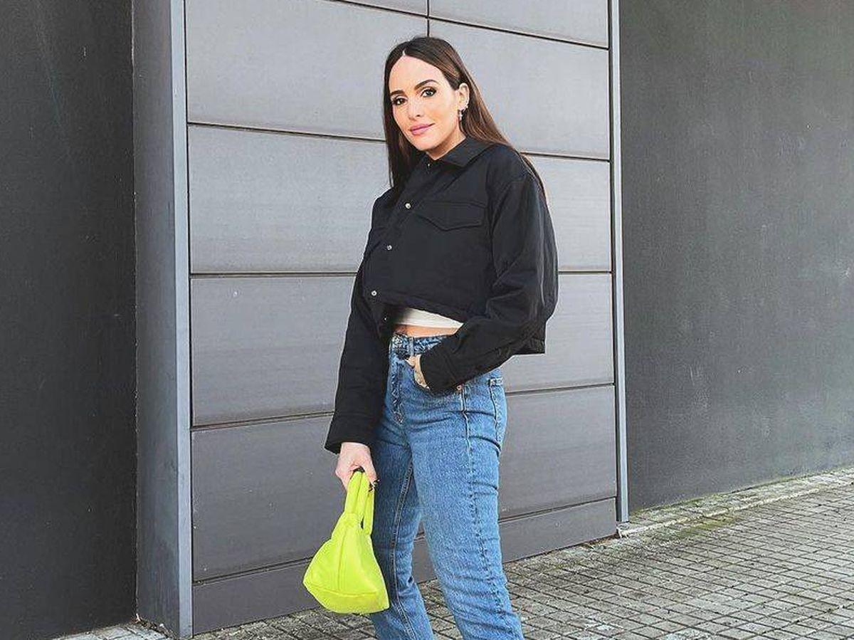 Foto: Look de Rocío Osorno con bolso y zapatos de Mango. (Cortesía)