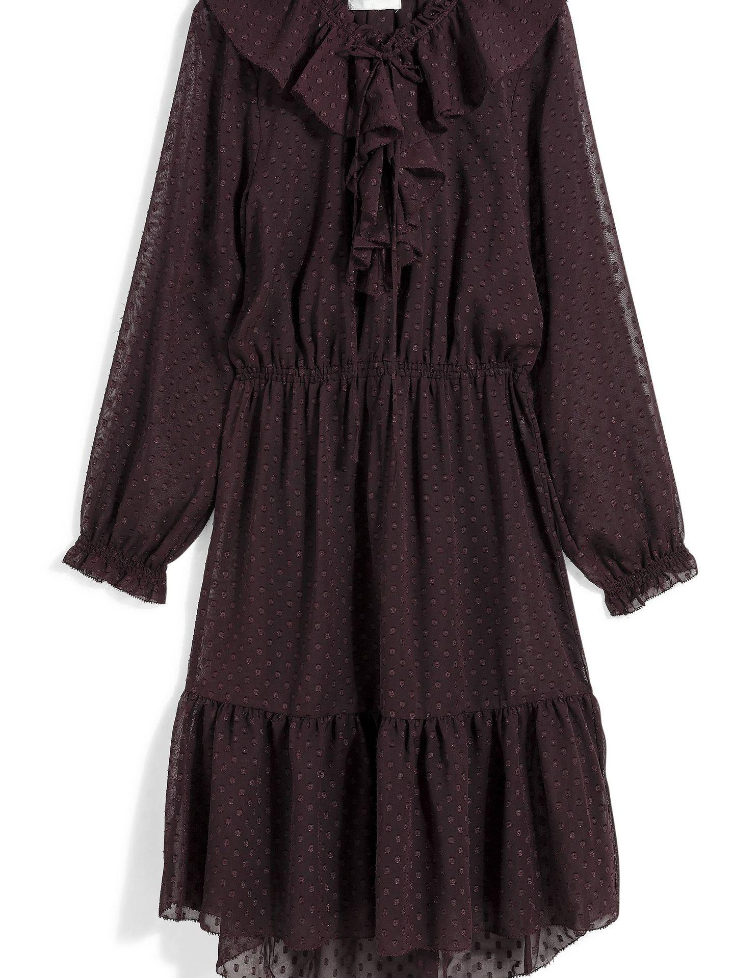 Sin costuras, presión y suelta. Hay que cambiar de estilo y de talla. Vestido de H&M (29,90 euros).