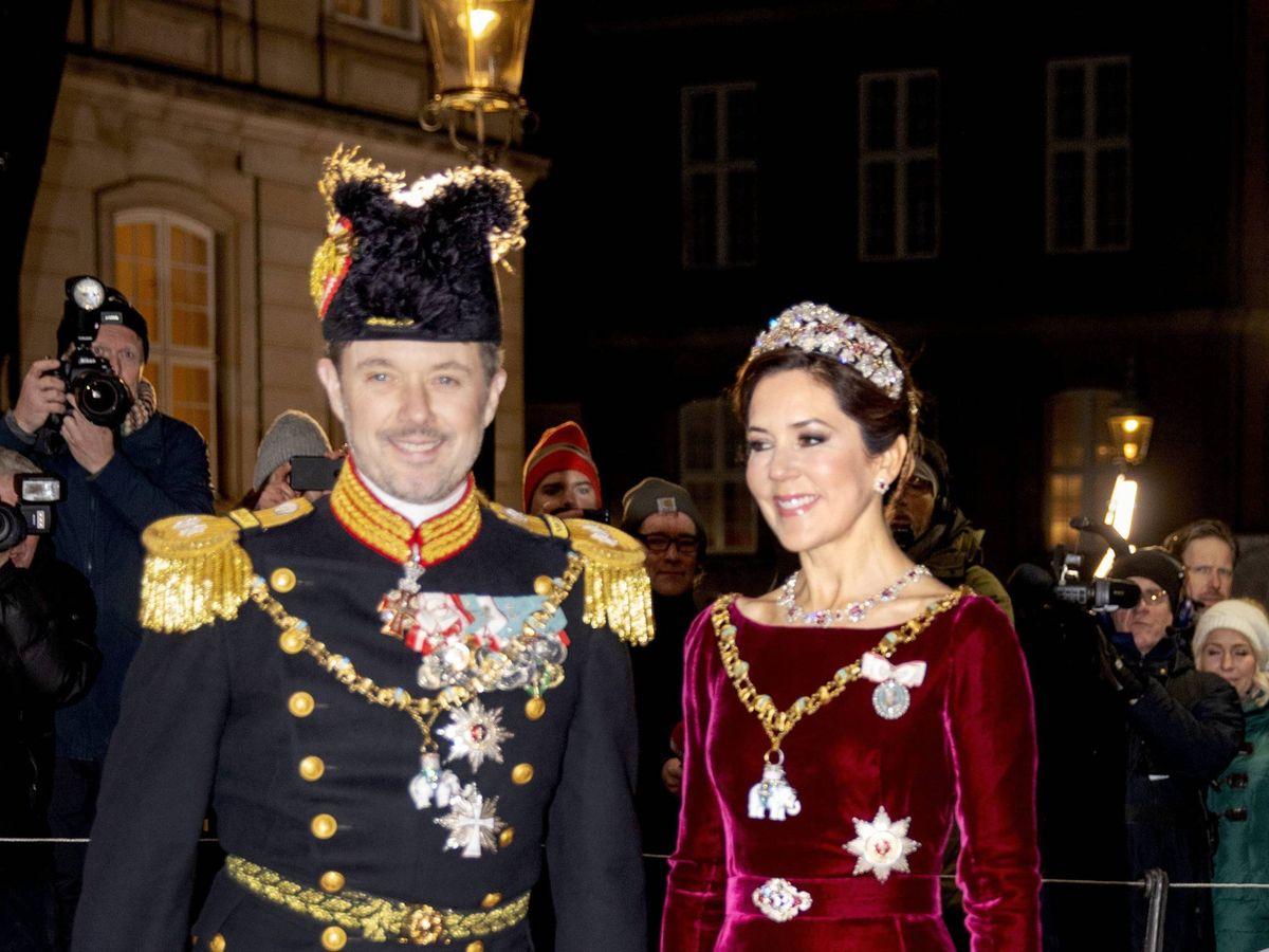 Foto: Los herederos daneses. (Cordon Press)
