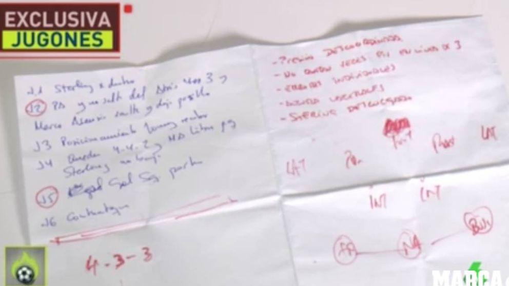 Salen a la luz las anotaciones de Luis Enrique con los errores ante Inglaterra