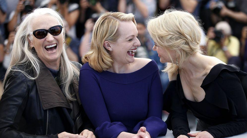 Foto: Jane Campion, Elisabeth Moss y Nicole Kidman en la presentación de la segunda temporada de 'Top of the Lake'