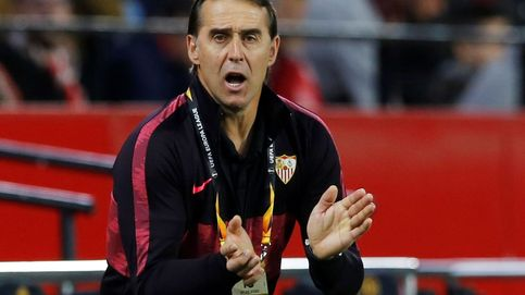 Como sufre Lopetegui su primera bronca en el Sevilla con pañolada y gritos de dimisión