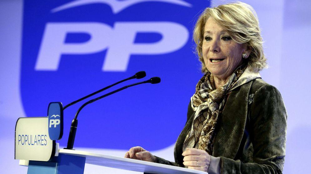 Foto: La candidata del Partido Popular a la Alcaldía de Madrid, Esperanza Aguirre. (EFE)