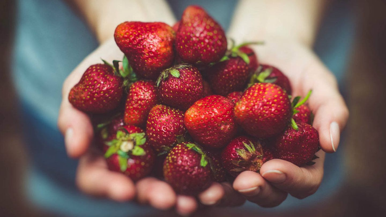 La fruta, mejor de manera sólida.