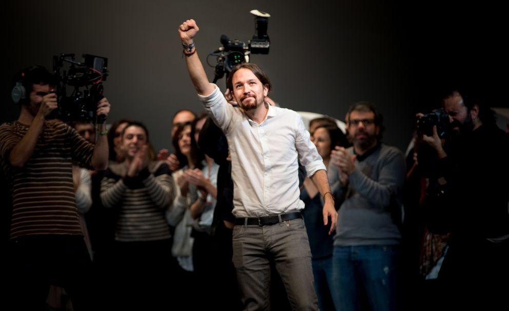 Foto: Pablo Iglesias, secretario general de Podemos (Daniel Muñoz)