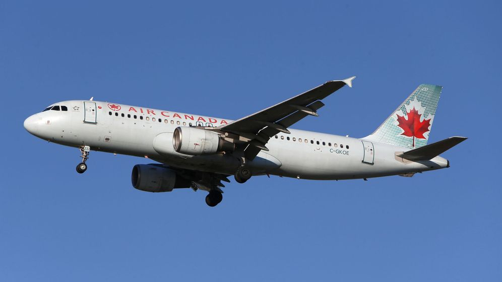 Foto: Un avión de la compañía aérea Air Canadá. (Reuters)