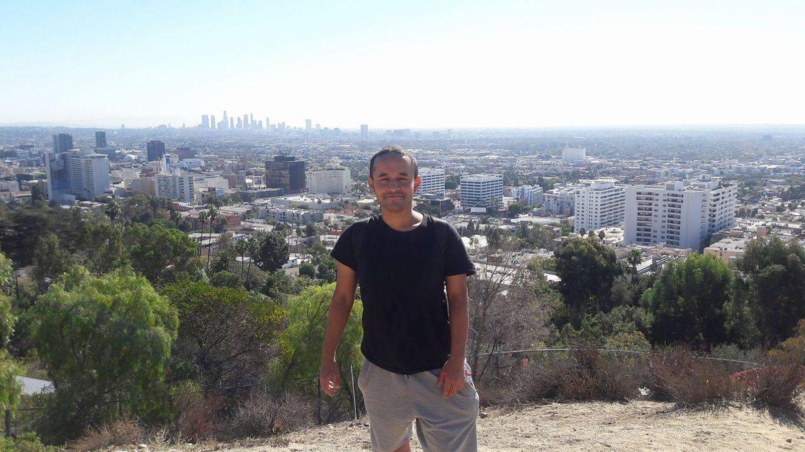 Foto: Damián tiene doble nacionalidad y lleva tres años trabajando en Boston de manera ilegal.