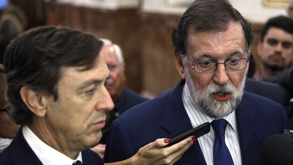 Rajoy pide a Puigdemont que dé marcha atrás y vuelva al sentido común