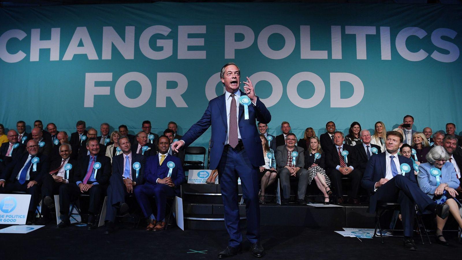 Foto: Nigel Farage. (EFE)