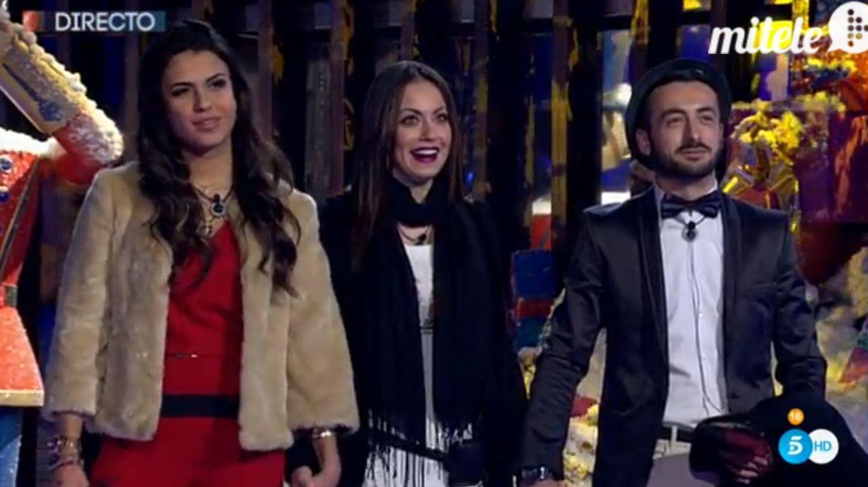 Sofía, Niedziela y Aritz (finalistas de 'Gran Hermano 16')