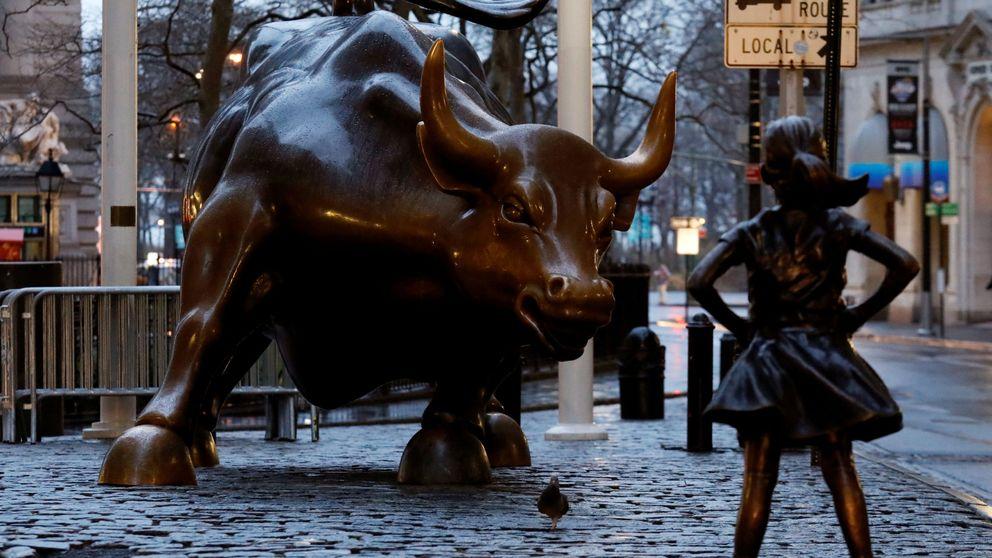 Triplete de máximos para Wall Street mientras España observa tras la barrera