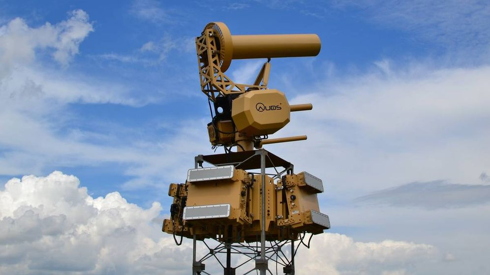 Foto: El sistema antidron AUDS (Foto: Blighter Surveillance)