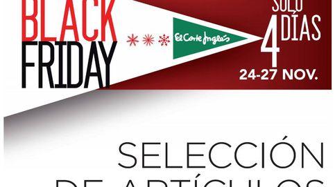 Black Friday en El Corte Inglés: ofertas en moda, tecnología, electrónica y más