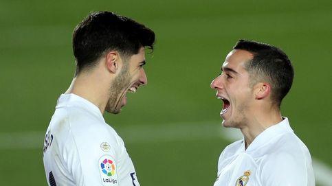 El festín de Lucas Vázquez y Marco Asensio: el Real Madrid más serio gana al Celta (2-0)