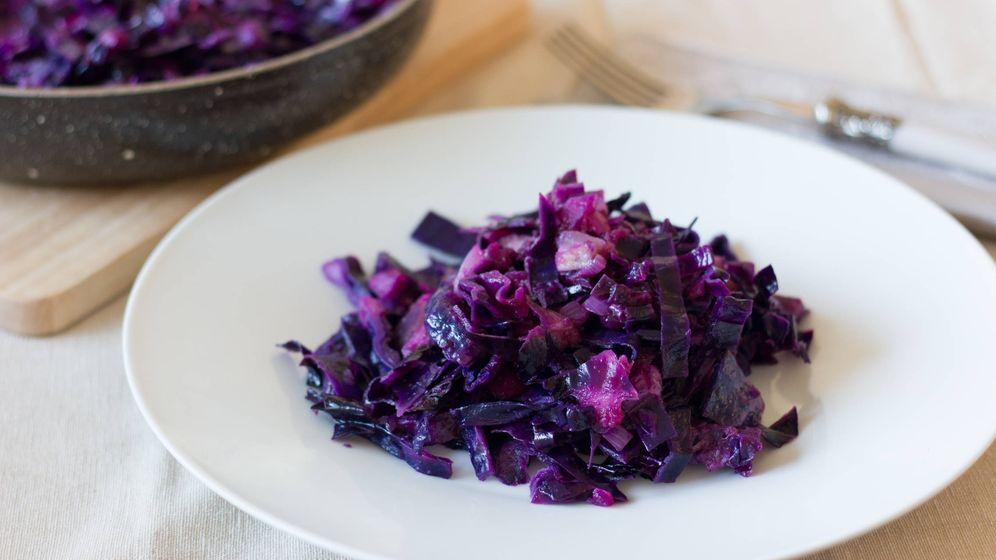 Como Cocinar Lombarda Con Manzana | Recetas Lombarda Salteada Con Manzana Color En Tu Plato