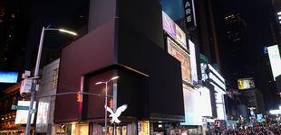 Post de Times Square apaga sus luces como protesta contra aseguradoras durante la pandemia