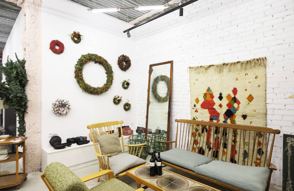 Foto: Así es El Salón, el espacio que SmartLuxury ha montado en la galería Experimento.