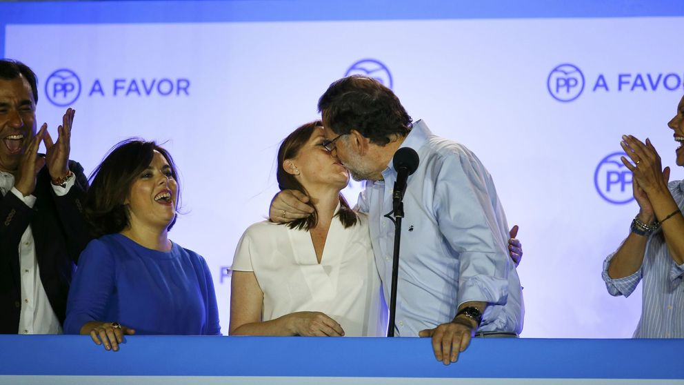 Rajoy gana a costa de Rivera y Sánchez sobrevive y evita el 'sorpasso' de Iglesias
