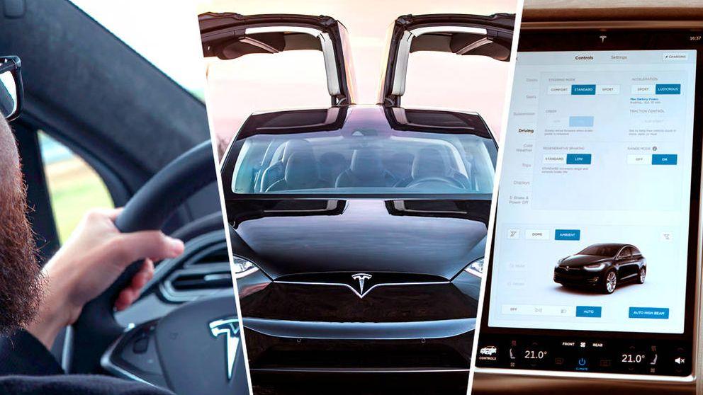 Probamos la tecnología a bordo de un Tesla Model X: esto es el coche del futuro