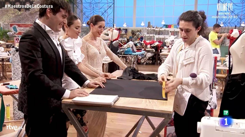 Tamara Falcó y Borja, en 'Maestros de la costura'. (TVE)