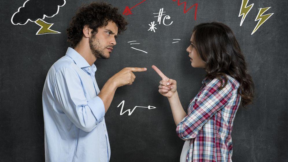 Foto: No es malo discutir con tu pareja, pero si os peleáis siempre... (iStock)