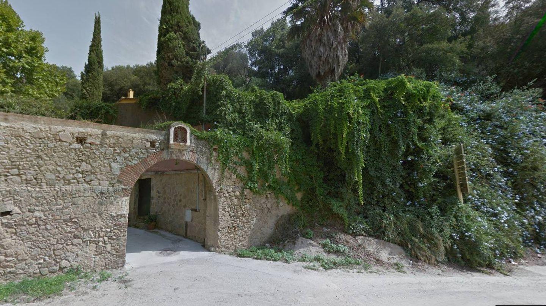 La entrada de la casa de Andreu Buenafuente en Cabrera de Mar, Barcelona