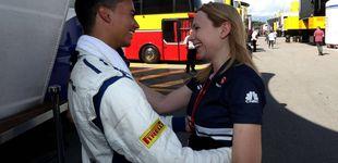 Post de Ruth Buscombo o cómo saber vender la moto dentro de un equipo de F1