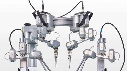 Probado con éxito el robot que hace supermicrocirugías