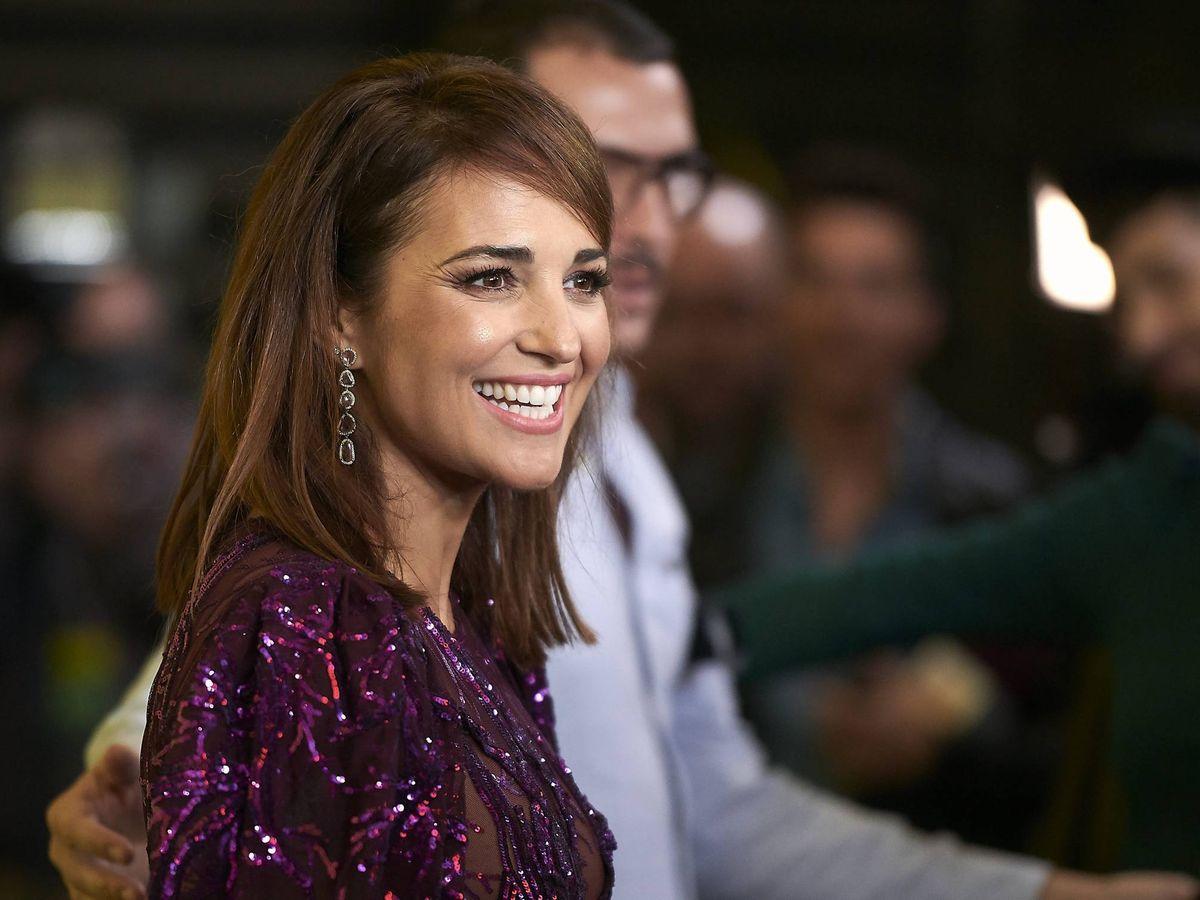 Foto: Paula Echevarría, en la reciente première de 'Si yo fuera rico'. (Cordon Press)