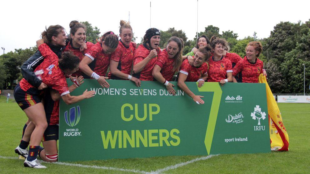 El billete a Río ha evitado que el rugby femenino desaparezca en España