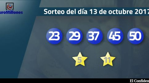 Resultados del sorteo del Euromillones del 13 de octubre de 2017