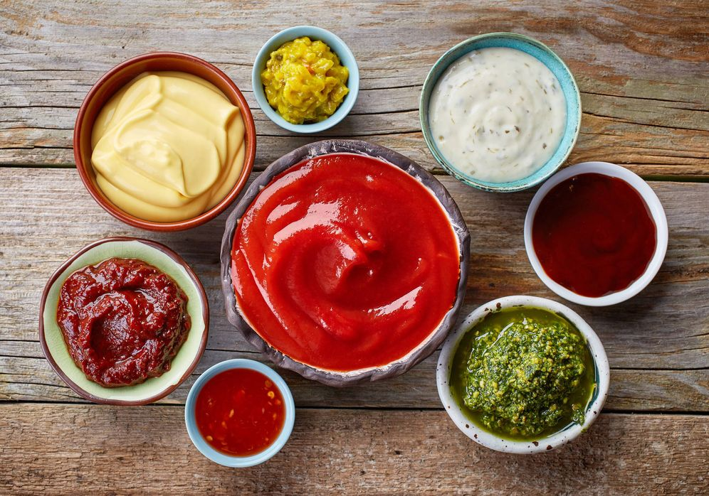 Foto: Salsas variadas. (iStock)
