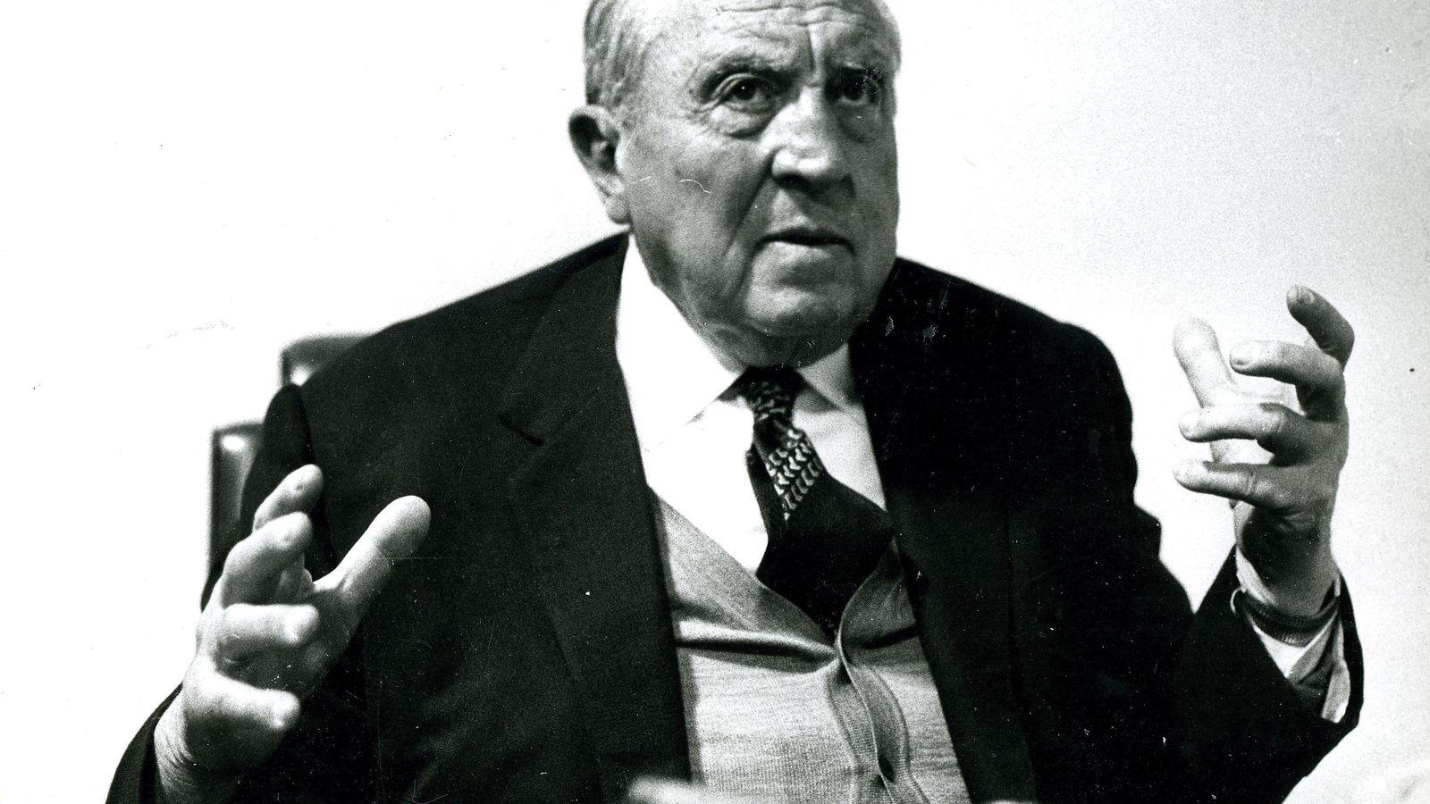 Foto: Santiago Bernabéu, en una imagen de archivo