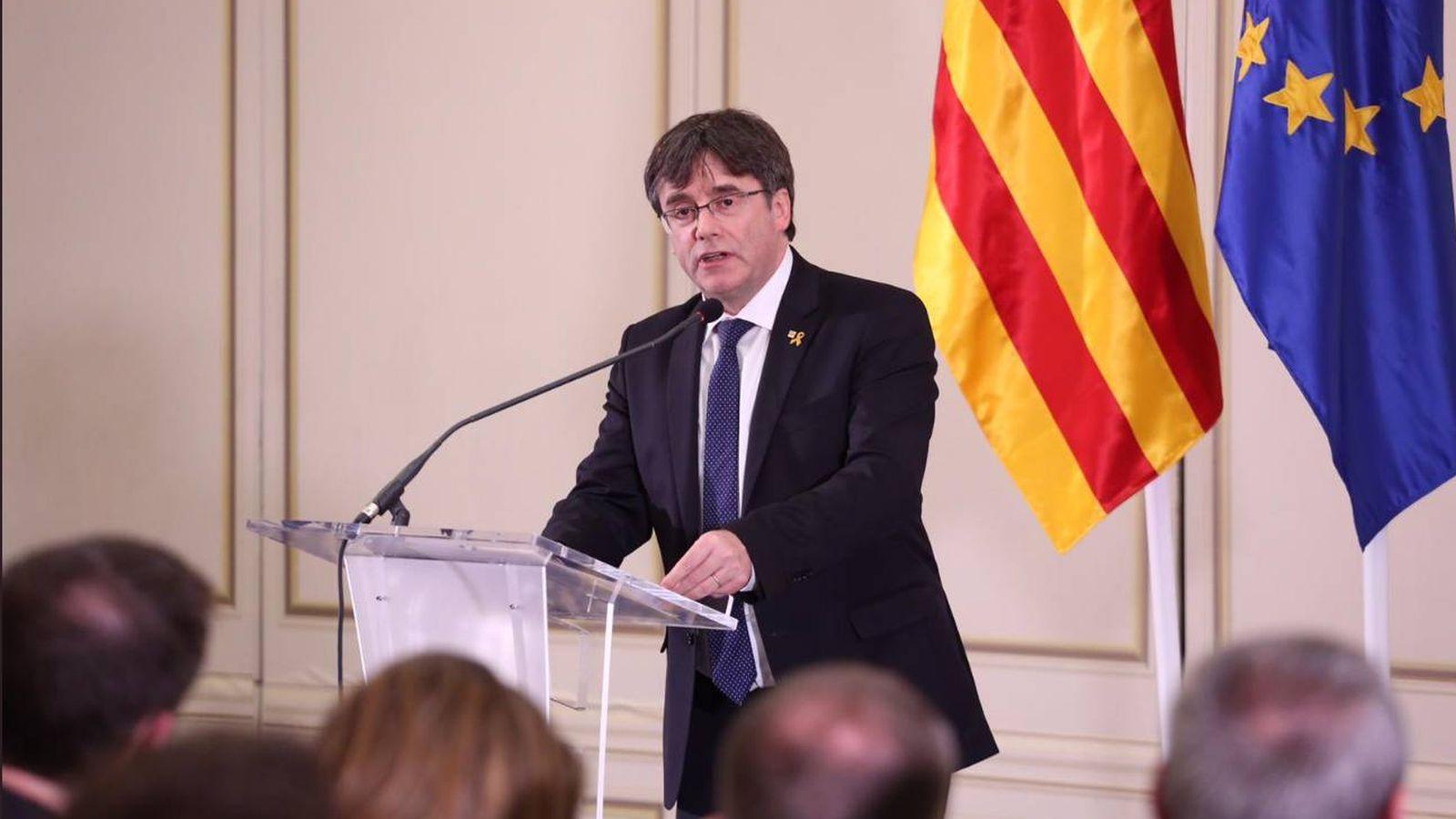 Foto: El expresidente de la Generalitat, Carles Puigdemont.
