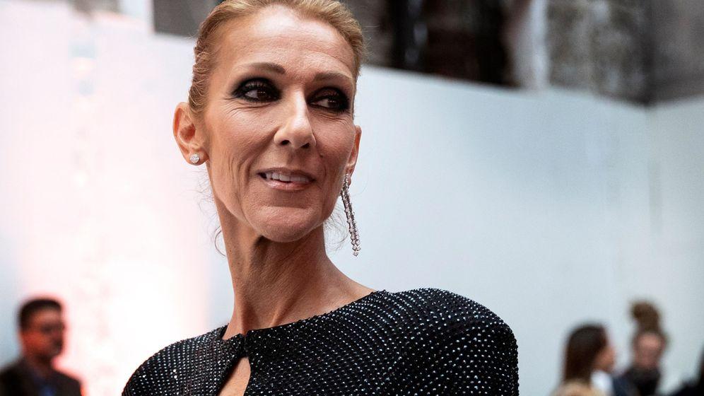 Foto: Céline Dion en la Semana de la Moda de Alta Costura de París. (EFE)