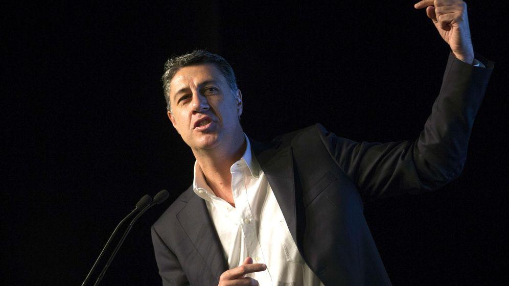 Foto: Xavier García Albiol, durante el acto de precampaña. (Efe)