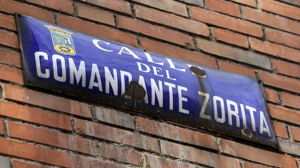 Foto: Una de las calles que desaparecerán con el nuevo callejero de Madrid. (EFE)