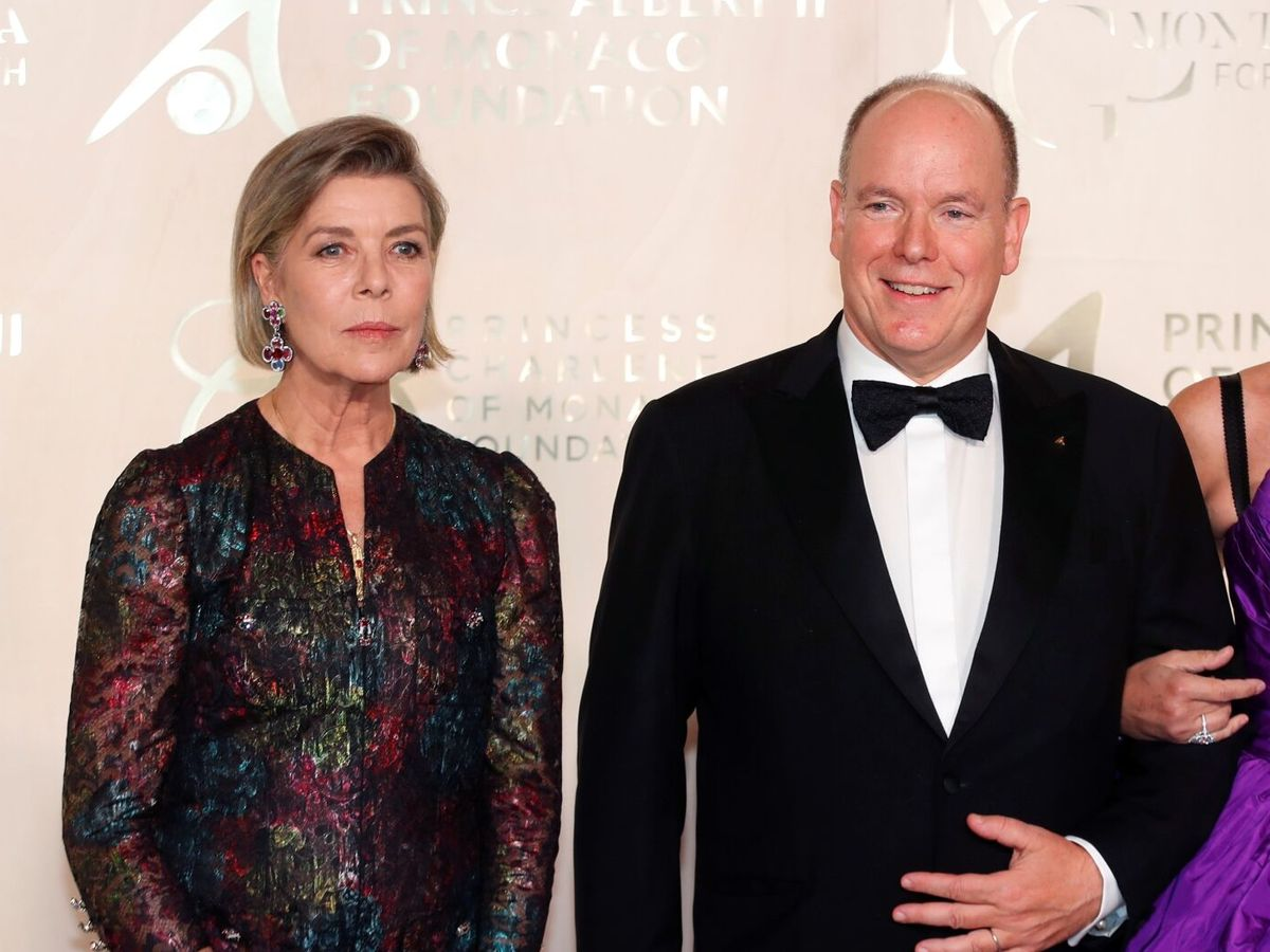 Foto: Alberto y Carolina, en la Gala por la Salud del Planeta. (EFE)