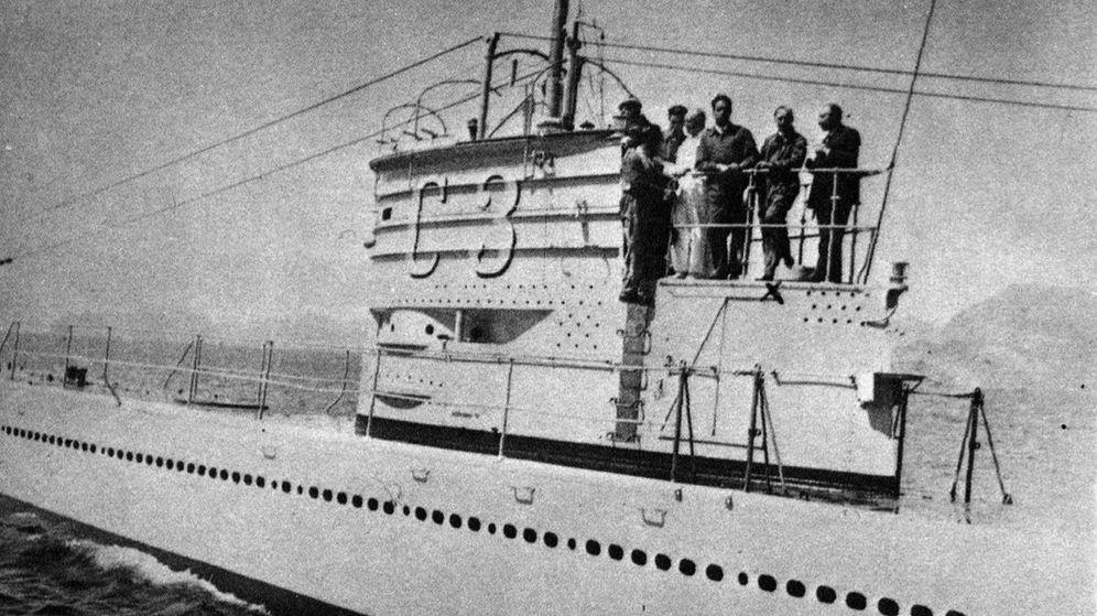 Foto: Fotografía, fechada en 1936, del submarino C-3.