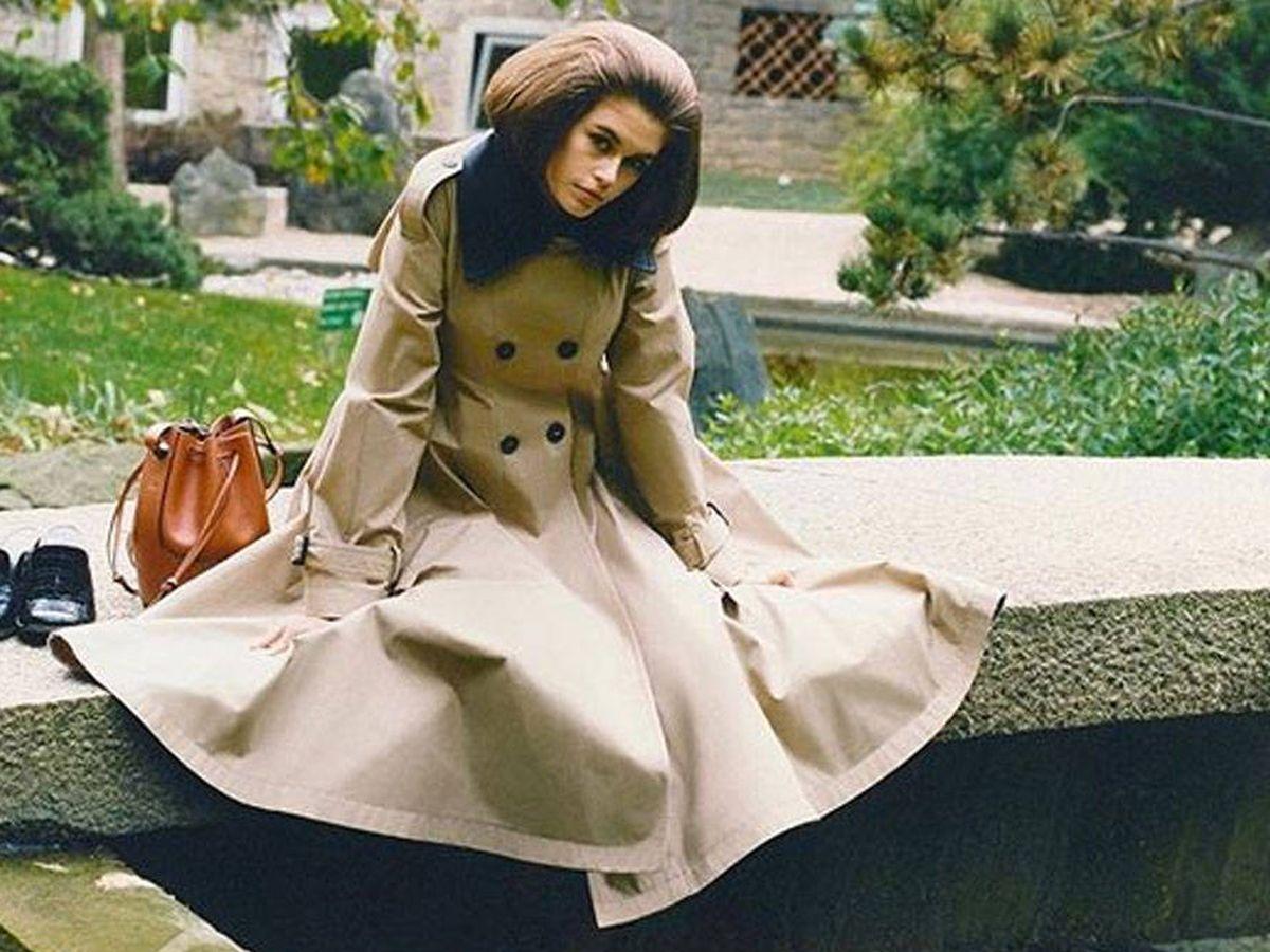 Foto: Kaia Gerber, en una imagen de campaña de Loewe. (Cortesía)